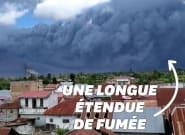 Indonésie: Le nuage de cendres de ce volcan s'étend sur 5km de
