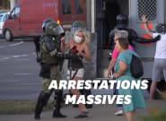 En Biélorussie, 700 arrestations de plus mais les manifestations