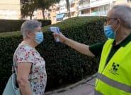Dos personas admiten tener coronavirus tras detectarles fiebre en un mercadillo de