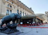 Des Femen manifestent au musée d'Orsay, accusé de