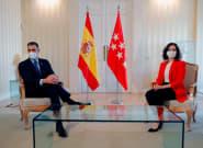 EN DIRECTO: Pedro Sánchez e Isabel Díaz Ayuso comparecen tras su reunión en la Puerta del