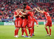 El Bayern de Múnich, campeón de la Supercopa de Europa tras vencer 2-1 al Sevilla en la