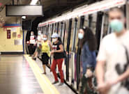 Un racista suelto en el Metro de