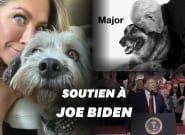 Jennifer Aniston et son chien affichent leur soutien à Joe