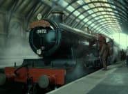 Esperan durante horas para ver el 'Expreso de Hogwarts', pero llega otro tren y se lo