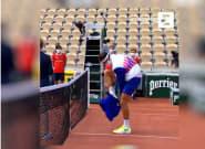 A Roland Garros, Grigor Dimitrov a du mal à enlever son