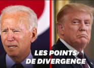 Débat Trump-Biden: 5 sujets de fond (hors covid) qui les