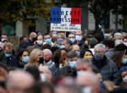 Miles de personas se reunieron en Francia tras el asesinato de Samuel