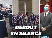 Hommage à Samuel Paty: plus de 300 députés observent une minute de