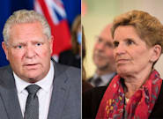 Doug Ford Pays Homage To Kathleen Wynne After She Says She Won't Run