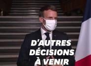 Attentat de Conflans: Macron annonce la dissolution du collectif pro-palestinien Cheikh
