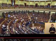 El discreto gesto de un diputado del PP mientras hablaba Bildu: algunos sí se han dado
