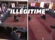 Le vote au Sénat pour la nomination d'Amy Coney Barrett boycotté par les