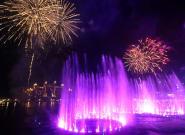 Dubái inaugura la fuente más grande del