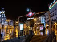 Ciudades españolas vaciadas por el toque de