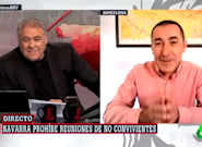 Ocurre en directo de 'Al Rojo Vivo' justo lo que ves en la foto: el comentario de Ferreras genera risas en