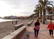 Murcia confina perimetralmente la región y todos sus