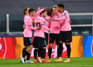 El Barcelona domina en Turín a una Juventus sin Cristiano