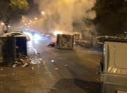 Vecinos y Policía apuntan a que la ultraderecha está tras los actos vandálicos contra el estado de alarma en
