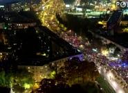 Las imágenes que muestran la magnitud de las protestas proaborto en