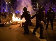 Más de una veintena de heridos en los disturbios en Barcelona contra las restricciones de