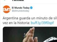 'El Mundo Today' rompe el contador de 'me gusta' con su titular tras la muerte de