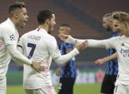 El Real Madrid gana al Inter (0-2) y da un paso de gigante hacia
