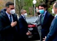 Pedro Sánchez visita los Laboratorios Farmacéuticos Rovi: