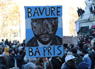 パリで警官らが無抵抗の黒人に集団暴行 ⇒