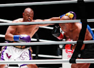 Mike Tyson, de retour sur le ring, n'a pas gagné mais il n'a rien perdu de son