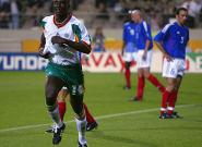 Papa Bouba Diop, buteur de France-Sénégal au Mondial 2002, est