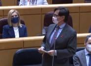 Alboroto en el Senado con la respuesta de Salvador Illa a un político del