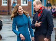 Kate Middleton Ups Her Winter Coat Game During The Royal Train