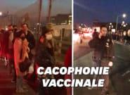 À New York, une rumeur de surplus de vaccins provoque une longue file