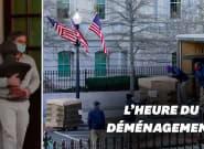 Avant le départ de Trump, la Maison Blanche en plein