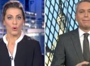 """Revuelo por lo ocurrido con Vicente Vallés y Ángeles Blanco en Telecinco y Antena 3: """"Alguna noche tenía que"""