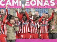 El emotivo gesto del Atlético de Madrid al ganar la Supercopa de