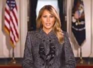 Melania Trump fait ses adieux et en profite pour rappeler que