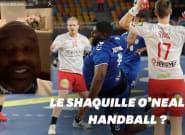 Qui est Gauthier Mvumbi, étoile montante du handball félicitée par Shaquille