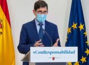 El consejero de Salud de Murcia y otros altos cargos de la consejería se vacunaron la semana