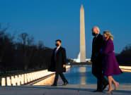 Biden llega a Washington para tomar las riendas de un país en