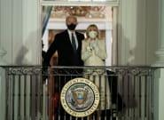 Captan lo que ocurrió junto a la tumba del hijo de Biden durante la