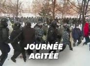En Russie, les manifestants pro-Navalny arrêtés à tour de bras par la