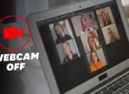 Éteindre sa webcam pendant sa visioconférence, c'est bon pour la