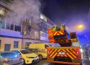 Un fallecido y 21 heridos, dos graves, en un incendio en Alcalá de