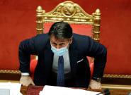 Italie: Giuseppe Conte, le chef du gouvernement,