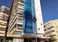 Detenida una mujer por cortar la cuerda de sujeción de un operario a una altura de 13