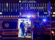 Un hospital portugués atiende a los pacientes con covid en ambulancias ante la falta de