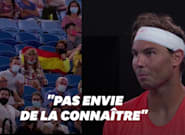 A l'Open d'Australie, le match de Nadal perturbé par une