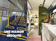 Ce couple a transformé un bus londonien en maison